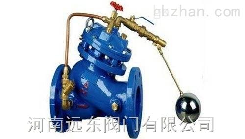 河南水力控制�yF745X型�b控浮球�y