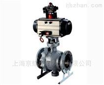 上海标一Q647F/Y气动固定式球阀