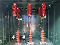 户外型一进一出电缆分支箱铜排连接