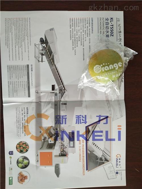 新科力精品百香果全自动包装机