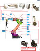 松下机器人维修ADA11132T-05配件UA轴本体