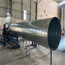 中山环保除尘螺旋风管厂家直供厂房排气风管