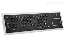 黑色海事工控金属键盘带触摸板