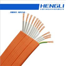 动力扁电缆KF46GB额定KV聚烯烃材质