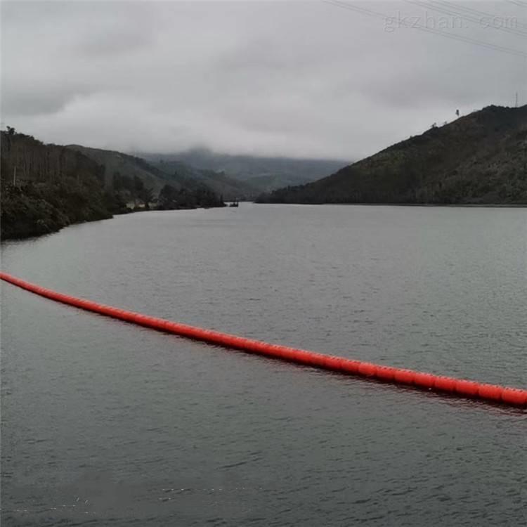 水电站拦污排 湖面生活垃圾拦截浮筒