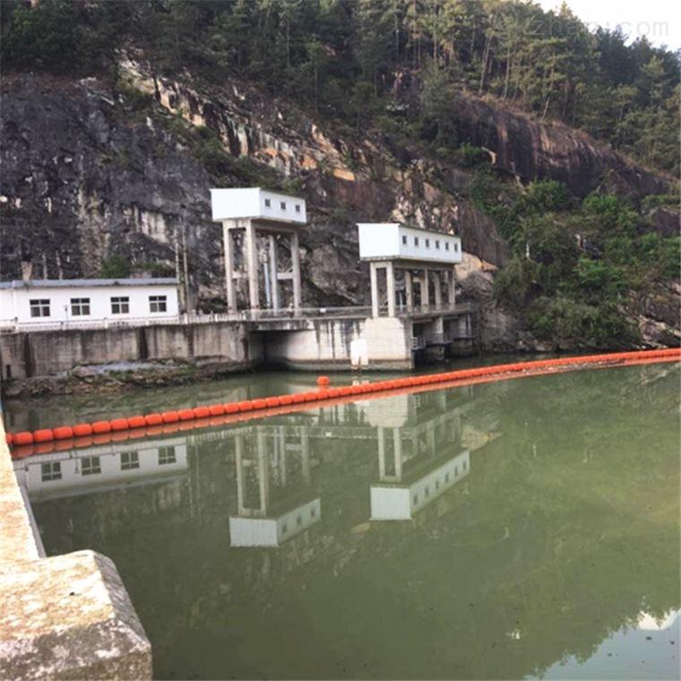 河道污染拦污浮排 水电站漂浮物拦截浮筒