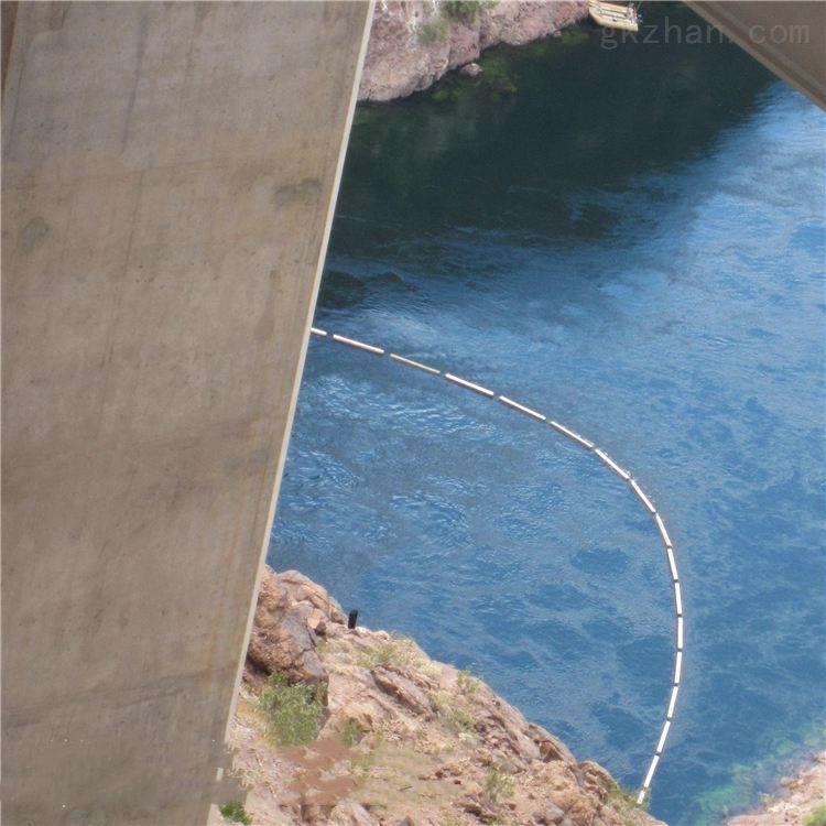水库杂物拦截浮筒 尼龙网拦草浮筒