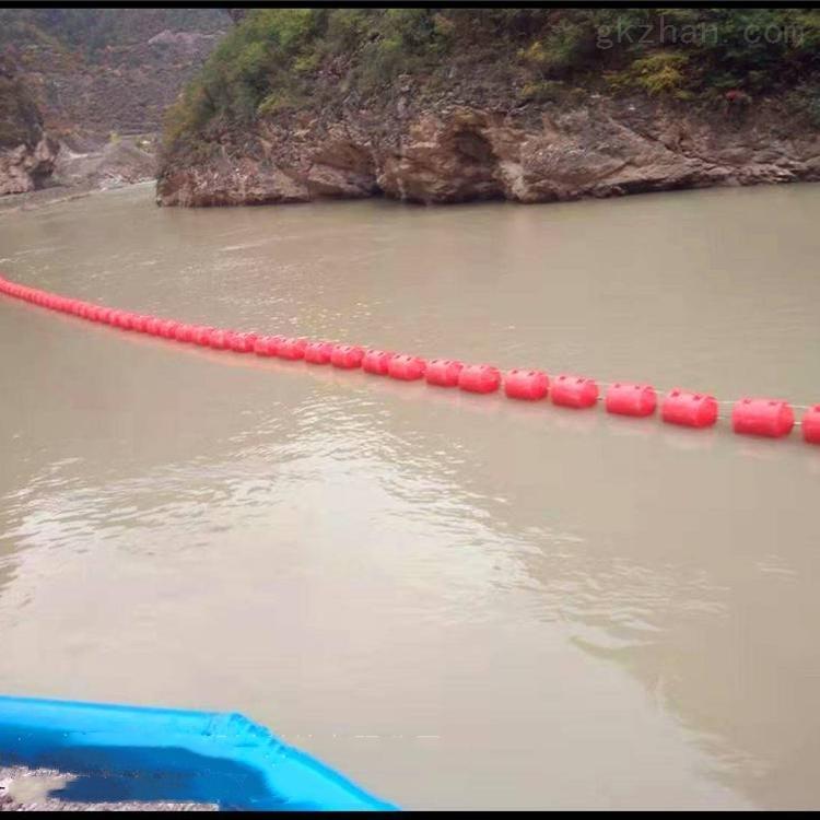 河道围垃圾浮体 水库拦污浮筒具体介绍