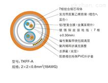 屏蔽式双绞线总线通讯电缆TKFFAR-A