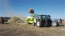 大型牧草秸秆揉丝粉碎机