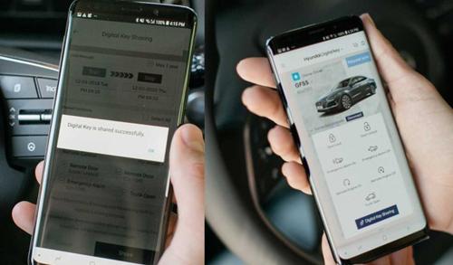 韓國汽車廠商現代將在紐約車展展示數字汽車鑰匙