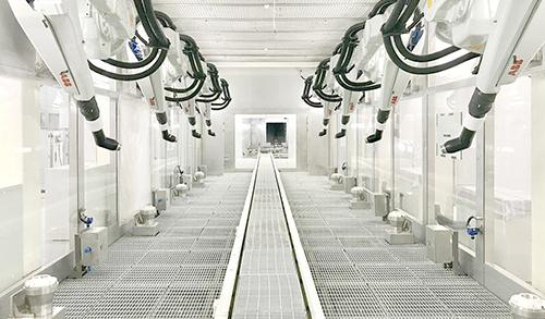 ABB將為上汽大眾中國首個新能源汽車工廠提供涂裝解決方案