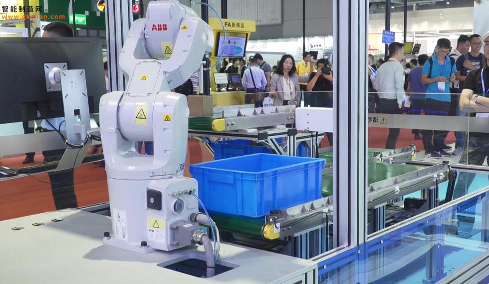 2019中国工博会ABB产品展示
