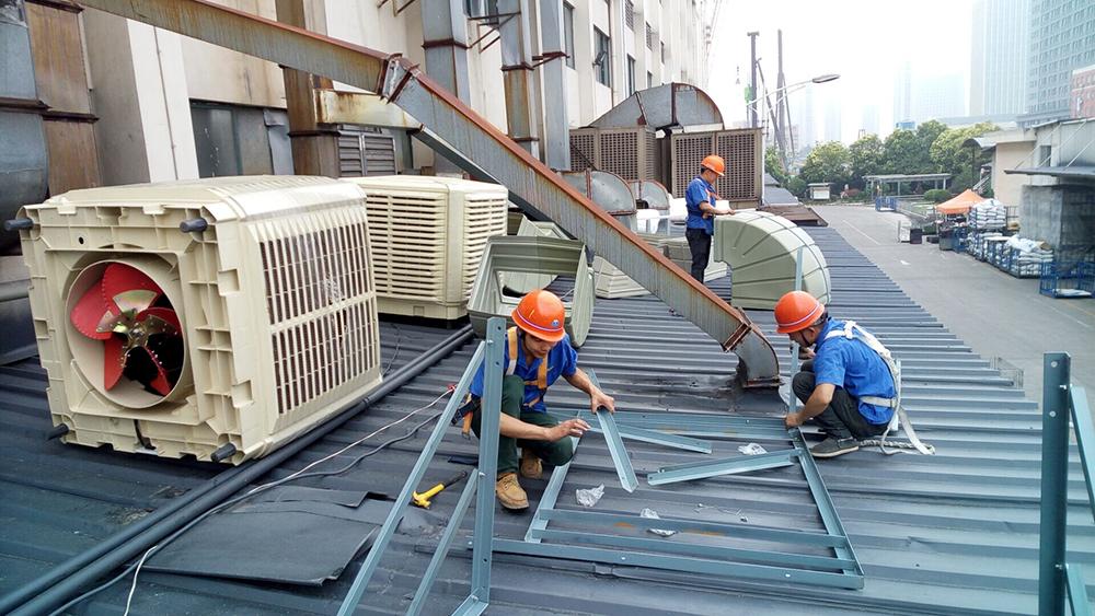 水空调安装图片2