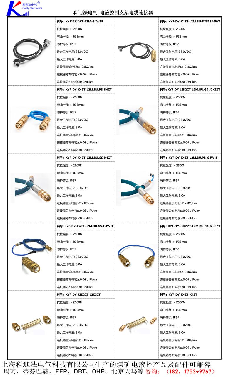 <strong><strong><strong><strong><strong><strong><strong>矿用电缆连接器</strong></strong></strong></strong></strong></strong></strong>,是电气开关移动变电站等设备中较常用的一款连接产品,连接器由插头部件和插座部件两个主体部件组成。每一部分又包括电缆引入系统和接线座及绝缘子,插座部件安装在机台或其他需要交流电压为10KV、电流至500A及以下的设备上,由插头部件与电缆安装后,通过三根连接导电杆插入插座,将馈电输入需提供电源的设备上。另外用两个插头部件相连接起电缆间连接耦合作用,插头部件与电缆安装后,必须用专用环氧树脂冷浇注剂填料灌满插头内腔空间,待固化后方可使用。连接器电缆引入装置备有螺旋式与压条式两种,以备选用。