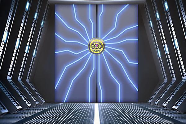 高科技机械门