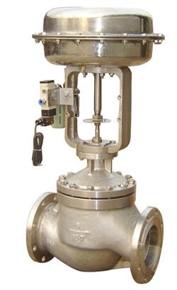 KZJHP氧气用全不锈钢气动单座调节阀