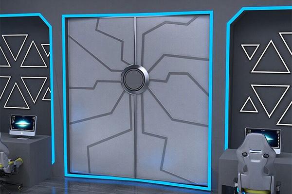 看起来很有科技感的门