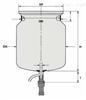 3030501德国HWS 3030501法兰容器 上海舟欧特价
